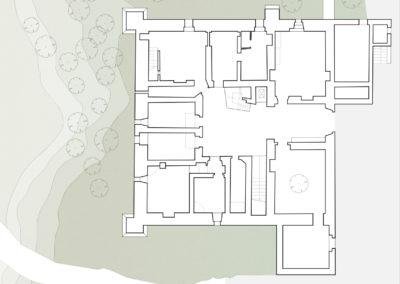 Rilevo_pianta piano terra Palazzo