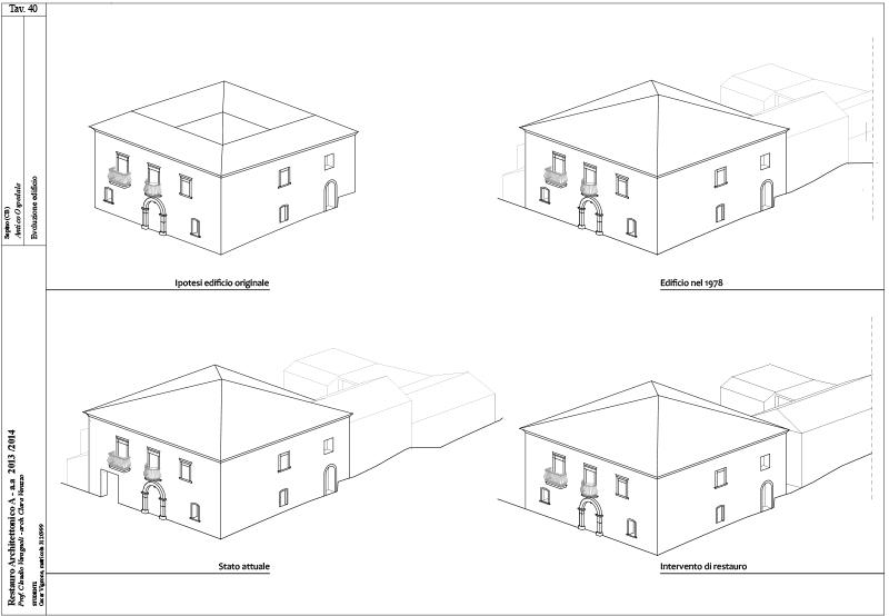 Tavola_40 Evoluzione edificio