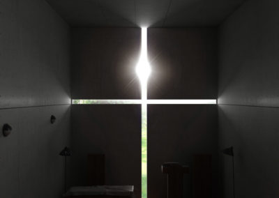 Render_Church of the Light – Tadao Ando